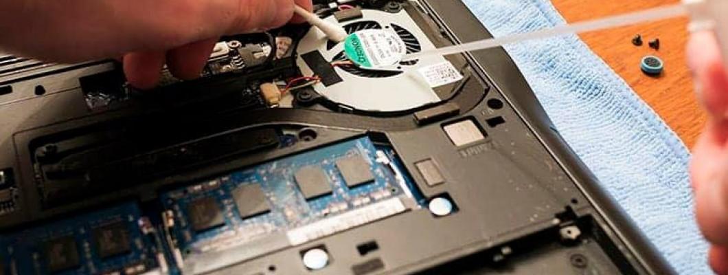 Καθαρισμός Συστήματος Ψύξης Laptop