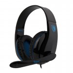 SADES Gaming headset Tpower με 40mm ακουστικά, Blue
