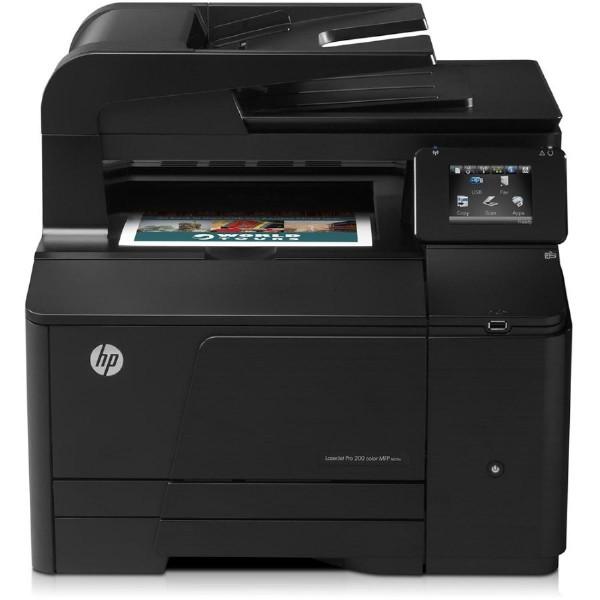 HP used Εκτυπωτής LaserJet M276n, Color, MFP, χωρίς toner